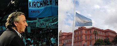 Néstor Kirchner, ex presidente, falleció tras una afección cardiovascular/ DyN