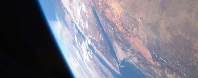 Imagen de satélite del Mar Rojo / Foto: NASA via AP