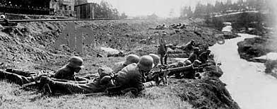 Soldados combatiendo durante la I Guerra Mundial / Foto: AP