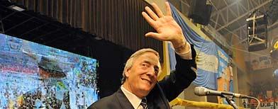 Néstor Kirchner, ex presidente, falleció tras una afección cardiovascular/ Télam