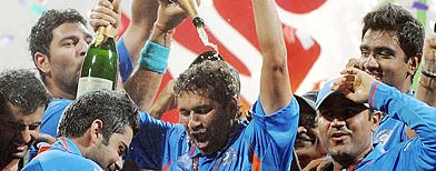 WELCOME 2 COOL DUDE: Dhoni's men end 28-year wait, win World Cup