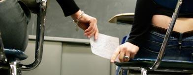 Nuevas trampas para copiar en exámenes