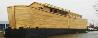 Replica of Noah's ark (Getty Images)