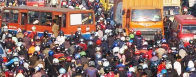 Kemacetan di Jakarta (Foto: Antara/Ujang Zaelani)