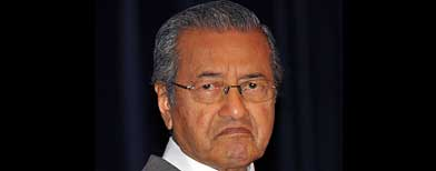 Dr Mahathir Mohamad (AP Photo)