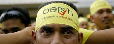 Bersih: KL milik rakyat, jumpa di sana esok (Foto AFP)