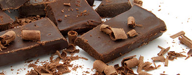 close-up of chocolate / iStockphoto
