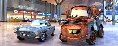 'Cars 2' (Pixar/Disney)