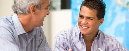 Tutor with student (Thinkstock)