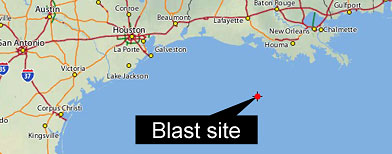 Blogosaurus Stampedegulf of mexico oil rig explosion Archives ... on google search mexico, money mexico, bing maps mexico, world atlas mexico, google earth mexico, driving directions mexico, google maps mexico, fedex mexico, mapquest mexico,