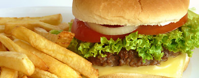 Photo by Thinkstock (Burger & French fries)