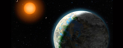 National Science Foundation, shows a new planet, right in the Goldilocks zone. (AP Photo/Zina Deretsky, National Science Foundation)