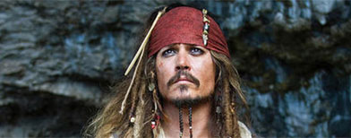 "Johnny Depp in ""Pirates of the Caribbean: On Stranger Tides."" (Walt Disney Pictures)"