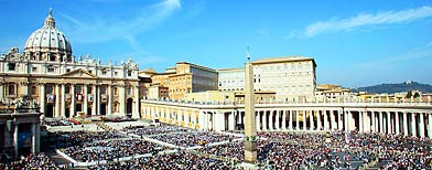 St. Peter's Square at the Vatican (AP Photo/Domenico Stinellis)
