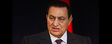 Hosni Mubarak (AP Photo/Ben Curtis)