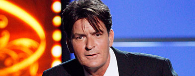 Charlie Sheen hospitalized with abdominal pain
