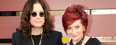 Ozzy and Sharon Osbourne (Jeff Kravitz/FilmMagic)