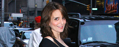 Tina Fey visits &quot;Late Show With David Letterman&quot; at the Ed Sullivan Theater on April 11, 2011 in New York City. (Donna Ward/Getty Images)