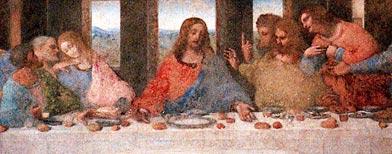 'La Última Cena' de Leonardo Da Vinci (AP/Antonio Calanni)