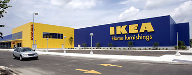 The IKEA store in Canton Township, Mich.  (AP Photo/Carlos Osorio)