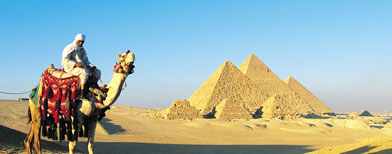 The Giza pyramids (Thinkstock)