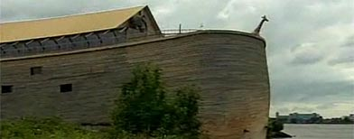 Replica of Noah's ark (Screengrab via Today Show)