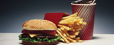 fast food meal (Thinkstock)