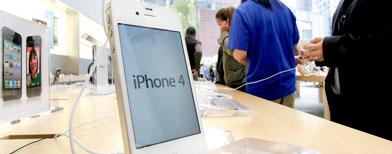 Apple iPhone 4.  (AP Photo)