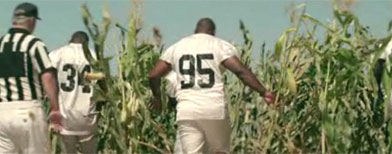 NFL players in 'Field of Dreams 2' spoof (Yahoo! Sports Blog)