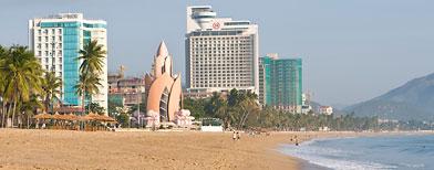 A beach at Nha Trang, Vietnam (Corbis)