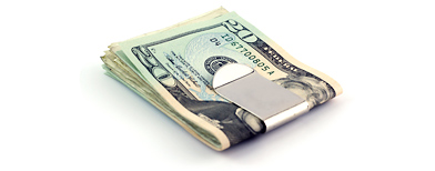 Money clip (Thinkstock)