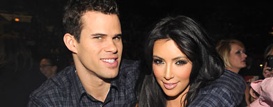 Kris Humphries and Kim Kardashian (Kevin Mazur/WireImage for NPG Records 2011)