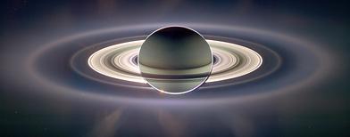 Saturn via NASA's Cassina rover (NASA)