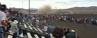 Reno Air Race crash (YouTube)