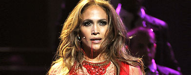 Jennifer Lopez performs in Las Vegas (Chris Kleponis-Pool/Getty Images)