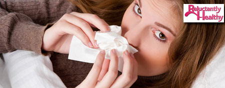 Sick woman (ThinkStock)