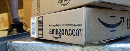 Amazon boxes (AP)