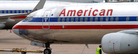 File photo of an American Airlines plane (AP)