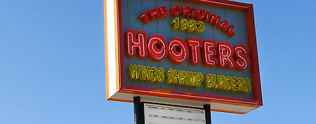 The orginal Hooters restaurant in Clearwater, Fla. (AP/Tamara Lush)