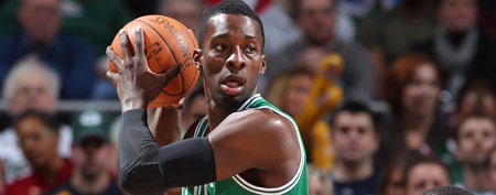 Jeff Green #8 of the Boston Celtics (Photo by Gary Dineen/NBAE via Getty Images)