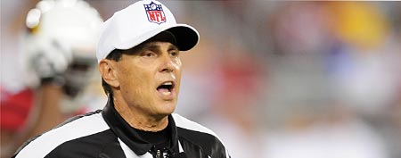 NFL referee Tony Corrente (Mark J. Rebilas-US PRESSWIRE)
