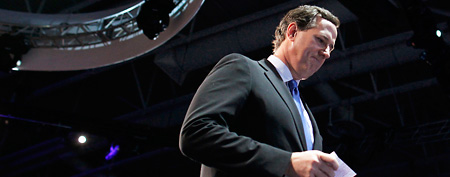 Rick Santorum Suspends Presidential Campaign, Daughter Bella Trisomy 18 Syndrome Concern
