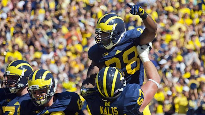 After poor performance, Wolverines hit the road