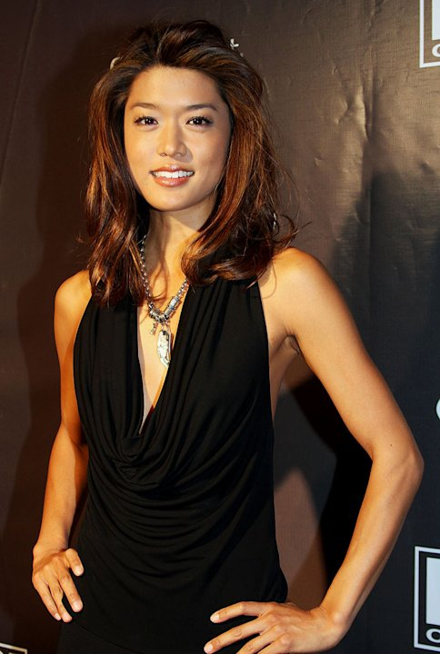 Grace Park arrives at the Hello Magazine Party held at Birks Jewellery store during the 2008 Toronto International Film Festival on September 6, 2008 in Toronto, Canada.