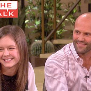 The Talk - Jason Statham's Works His Magic on Mrs. O!