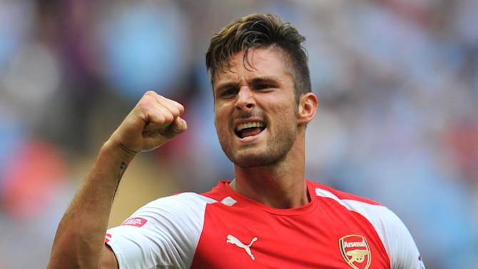 Arsenal striker Olivier Giroud will be out for up to four months after undergoing surgery to repair a broken tibia, manager Arsene Wenger reveals