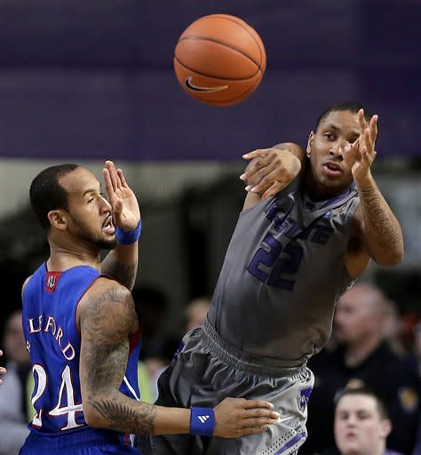 Releford leads No. 3 Kansas past No. 11 K-State