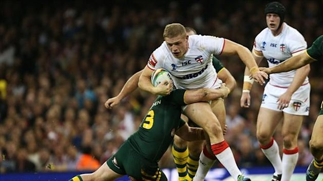 George Burgess - hoping to win his third cap