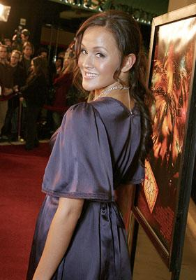 Crystal Lowe at the Los Angeles premiere of Weinstein Company's Black Christmas