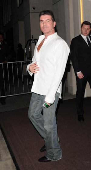 Simon Cowell attends the 'Britain's Got Talent' final wrap party at 45 Park Lane on June 8, 2013 in London -- Getty Premium
